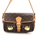 Louis Vuitton Hudson Bag in Monogram Canvas