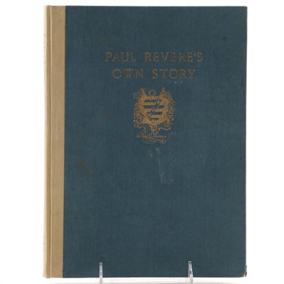 "Limited Edition ""Paul Revere's Own Story"" Compiled by Harriet O'Brien, 1929"