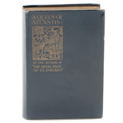 "First American Edition ""A Queen of Atlantis"" by Frank Aubrey, 1900"