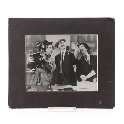 Marx Brothers Photograph from the Samuel Marx Estate