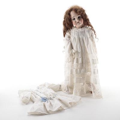 German Queen Louise Porcelain Doll