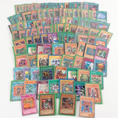 """Yu-Gi-Oh! Cards Including """"Dark Master"""" and Other Holographic Cards"""