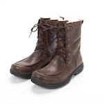 UGG Australia Waterproof Leather Boots with Vibram Rubber Sole