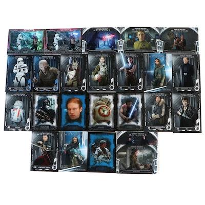Star Wars Episodes 7-9 Masterwork Trading Cards