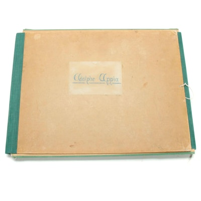 """Adolphe Appia: Album de reproductions de ses œuvres,"" 1929"