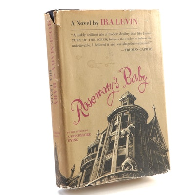 "First Printing ""Rosemary's Baby"" by Ira Levin with Original Dust Jacket, 1967"