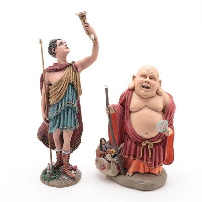 "Duncan Royale ""History of Santa"" Series Resin Figurines"