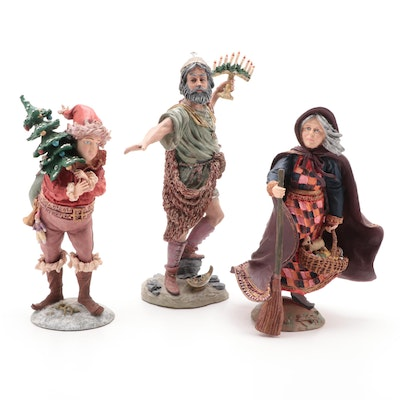 "Duncan Royale ""History of Santa"" Limited Edition Resin Figurines"