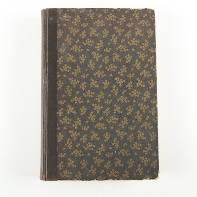 "Limited First Edition ""Edgar Allan Poe Letters Till Now Unpublished,"" 1925"