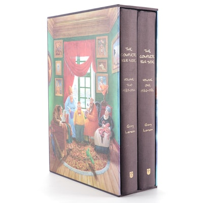 """The Complete Far Side"" Two-Volume Box Set by Gary Larson, 2003"