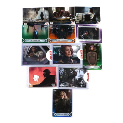 Star Wars Episodes 7-9 Art Cards and Limited Edition Trading Cards