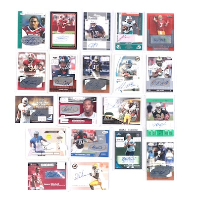 Certified Autograph Football Draft and Rookie Cards with Jason Pierre-Paul