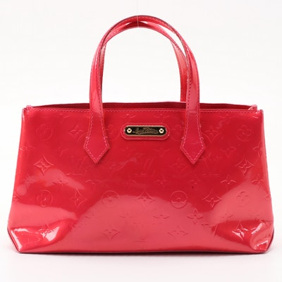 Louis Vuitton Wilshire PM Bag in Rose Vernis