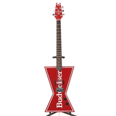 Dean Budweiser Promotional Electric Guitar