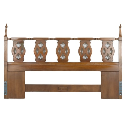 Drexel King Size Headboard, Mid to Late 20th Century