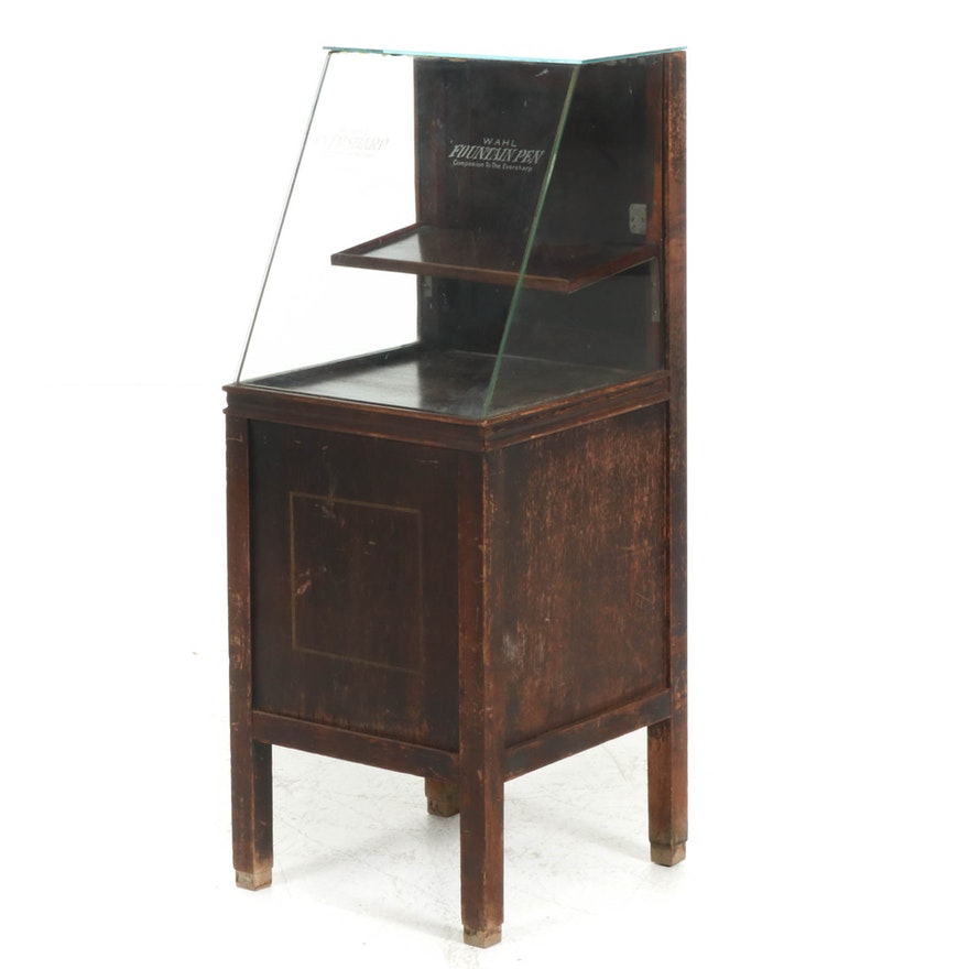 """Wahl """"Eversharp"""" Pencil and Fountain Pen Display Case, Early 20th Century"""