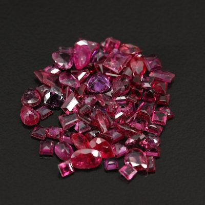 Loose 10.10 Faceted Rubies