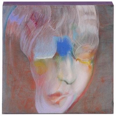Winston Chmielinski Oil Portrait Painting, 2018