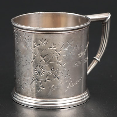 Whiting Sterling Silver Keepsake Cup, Late 19th Century
