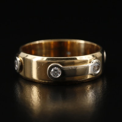 Baraka 18K Band with Diamond Accents