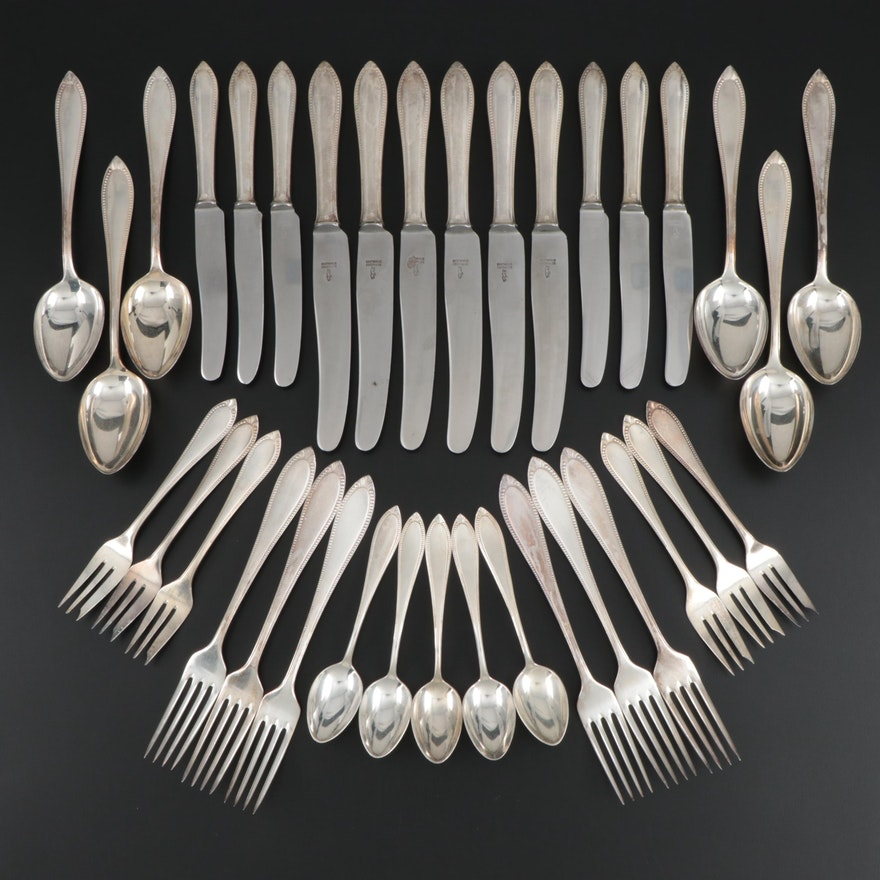 Berndorf Silver Plate Flatware, Early to Mid-20th Century