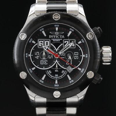 Invicta Russian Diver Chronograph Stainless Steel Quartz Wristwatch
