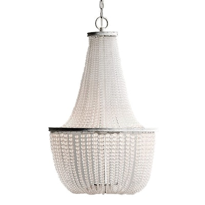RH Baby & Child Dauphine Frosted Glass Empire Chandelier