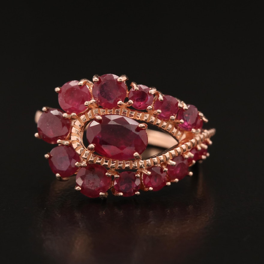 Sterling Ruby Openwork Ring