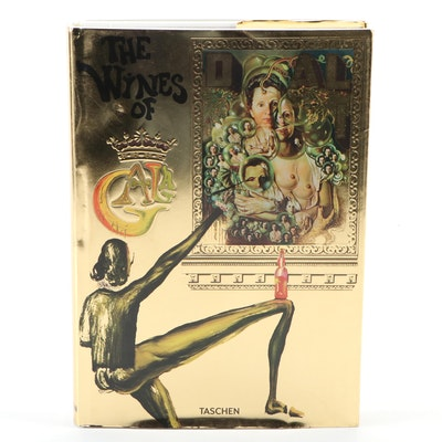 """Dalí: The Wines of Gala"" Facsimile Edition by Salvador Dalí, 2017"