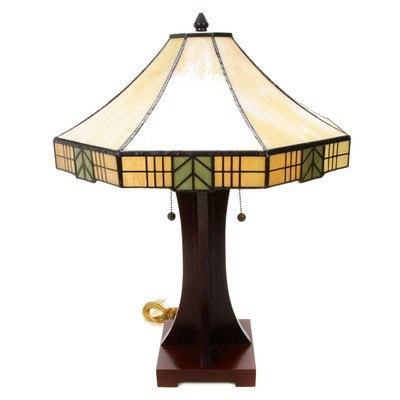 Arts and Crafts Style Table Lamp, Contemporary