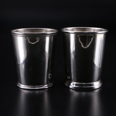 J.C. Boardman & Co. for Schwarzschild, and S. Kirk & Son Sterling Julep Cups