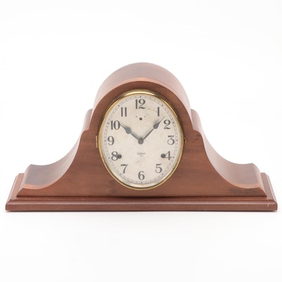 William L. Gilbert Clock Co. Wood Tambour Clock, Early to Mid 20th Century