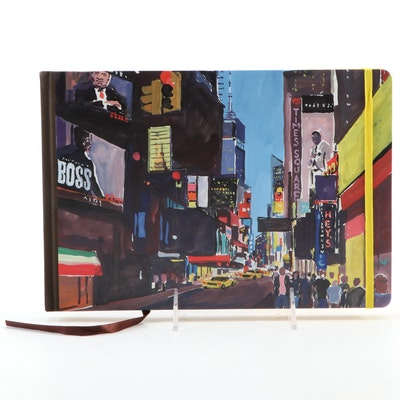 """""""Louis Vuitton Travel Book New York"""" by Jean-Philippe Delhomme, 2013"""
