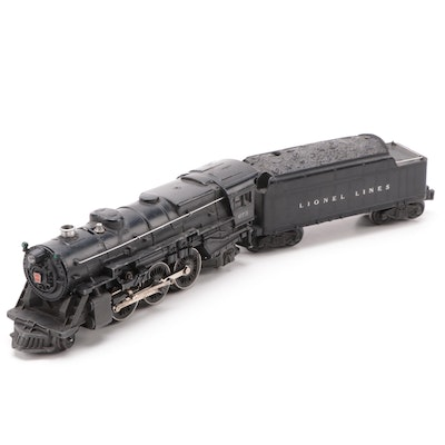 Lionel Postwar #675 Steam Locomotive and Tender Car, circa 1947