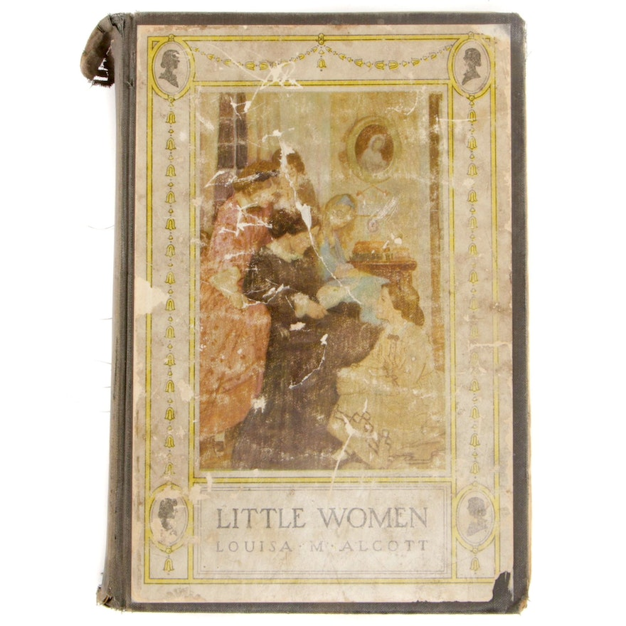 "Illustrated ""Little Women"" by Louisa May Alcott, 1922"