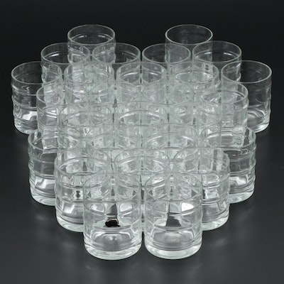 Bamboo Decorated Double Old Fashioned Glassware