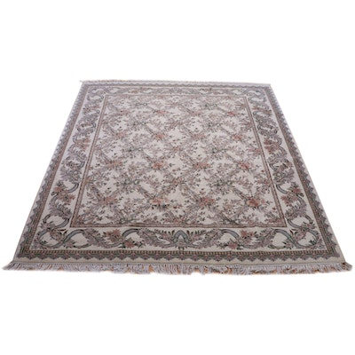 8'1 x 11' Hand-Knotted Pakistan Fine Weave Wool Rug from The Rug Gallery