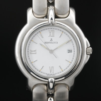 Bertolucci Pulchra Stainless Steel Quartz Wristwatch