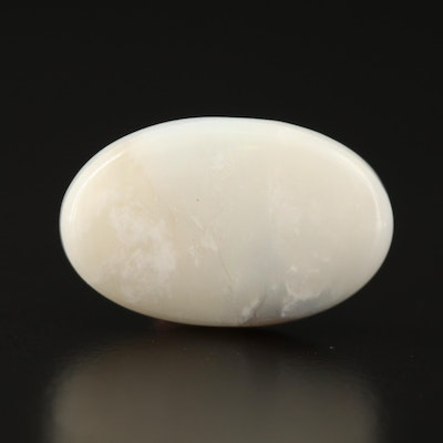 Loose 11.88 CT Oval Common Opal Cabochon
