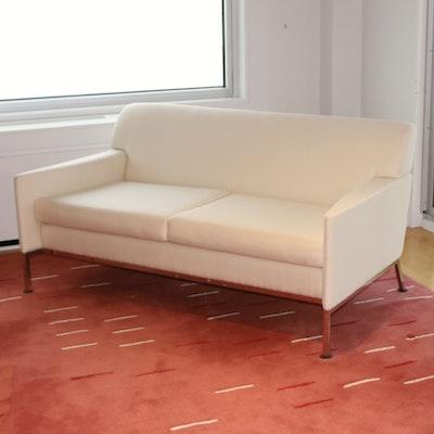 Brueton Industries Mid Century Modern Style Upholstered Sofa