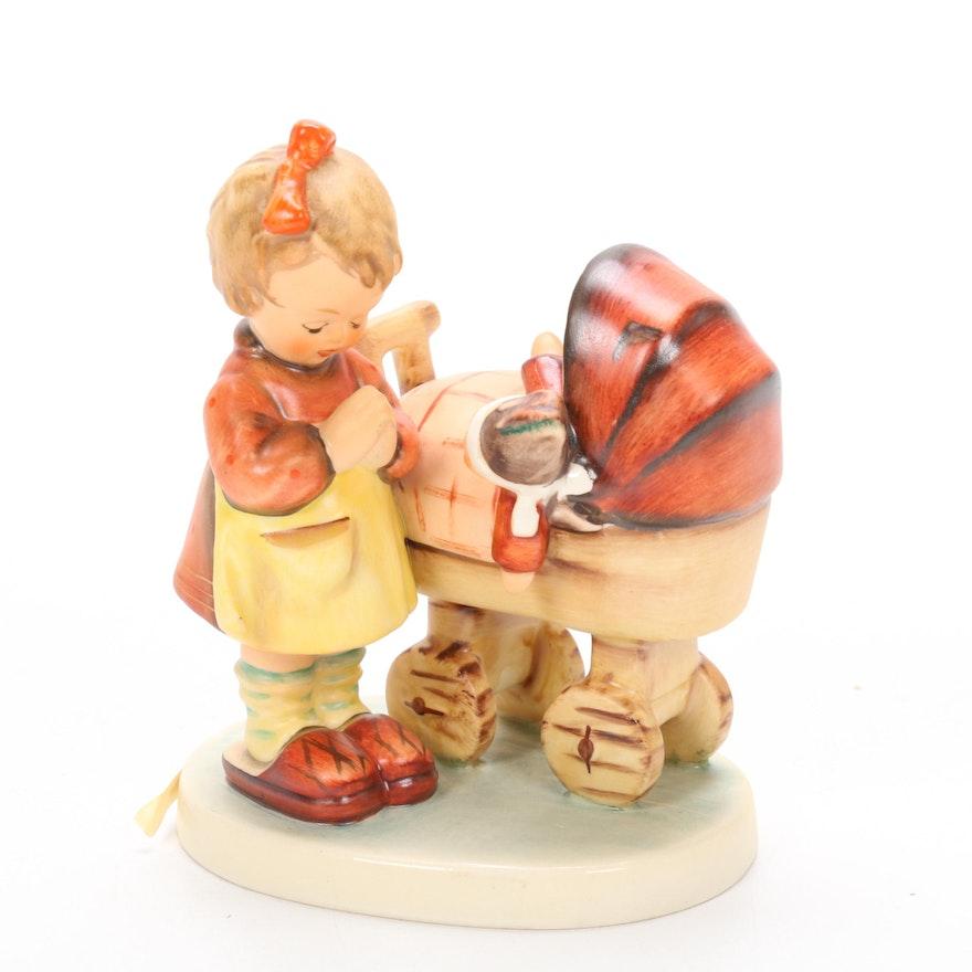 "Goebel Hummel ""Doll Mother"" Porcelain Figurine, Late 20th Century"