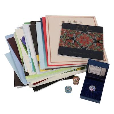 Halcyon Days Enamel Boxes and Catalogs, 21st Century