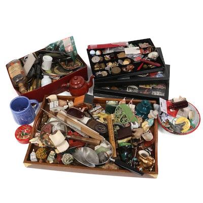 Miniatures, Tokens, Ephemera, Pinbacks and Other Vintage Collectibles
