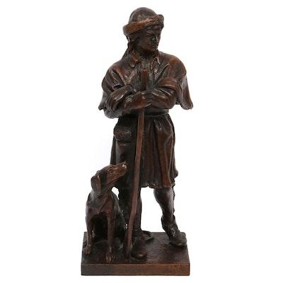"Bronze Sculpture after JQA Ward ""Simon Kenton"" by Mike Major"