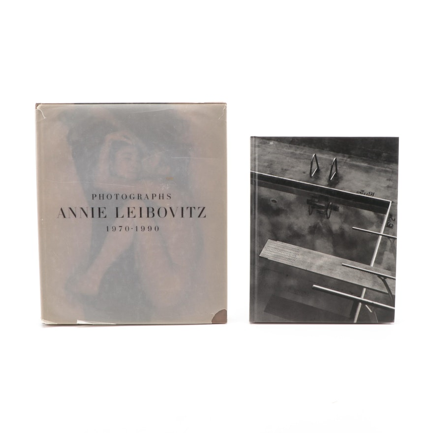 "Signed First Edition ""Olympic Portraits"" by Annie Leibovitz with ""Photographs"""