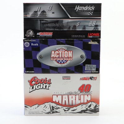 Limited Edition NASCAR 1:24 Diecast Model Cars