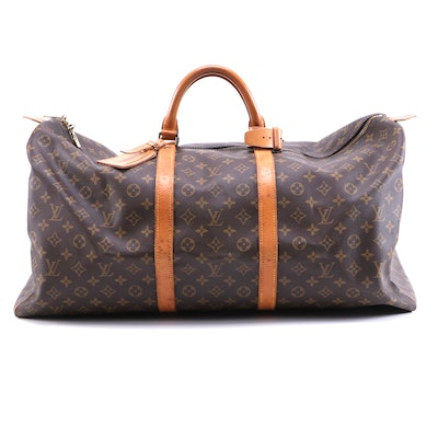 Louis Vuitton Malletier Keepall 60 in Monogram Canvas