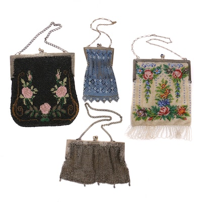 Beaded and Mesh HandBags, Early to Mid-20th Century