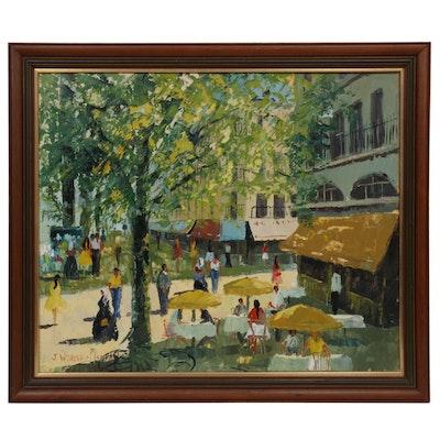John Wynne Morgan Impressionist Style Oil Painting