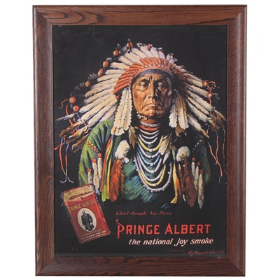 "Offset Lithograph Poster ""Prince Albert Tobacco,"" 20th Century"